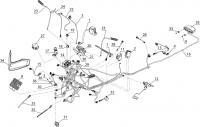 Органы управления, осветительные и сигнальные приборы, датчики 141122